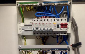 Moved Consumer unit