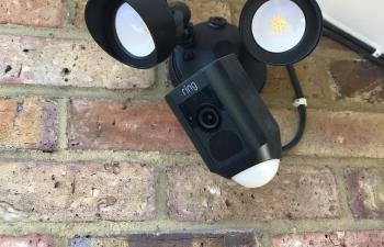 Ring security camera in Emerson Park
