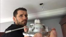 Dean Installing LED downlights